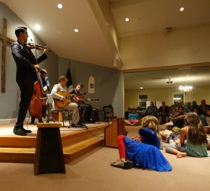 Jason Anick, Olli Soikkeli and the Rhythm Future Quartet put on an amazing display of musicianship. Even princesses were captivated.